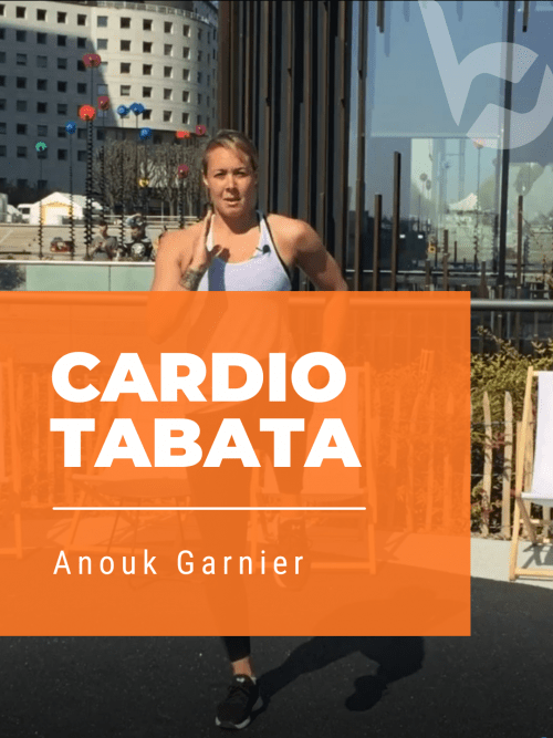 Anouk Garnier Cardio Tabata Video Circuit training hiit