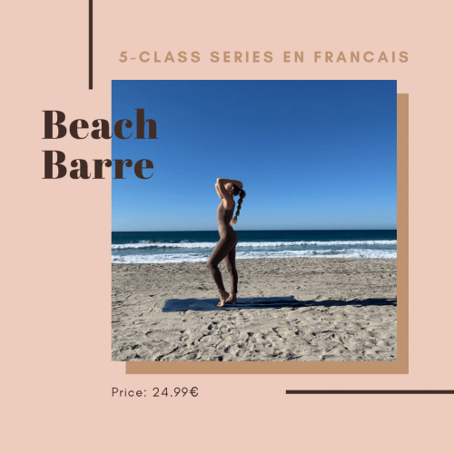 Beach Barre Cover w Text